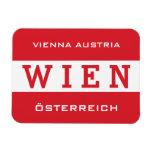 Wien - Vienna magnet Vinyl Magnets