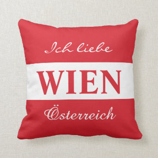 Wien - Vienna throw pillows