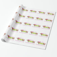 WIENDERFUL CHRISTMAS WRAPPING PAPER