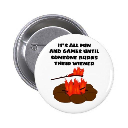 Wiener Burn Button