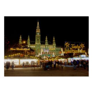 Wiener Christkindlmarkt Large Business Card