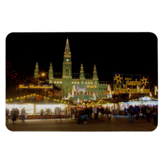 Wiener Christkindlmarkt Rectangular Photo Magnet