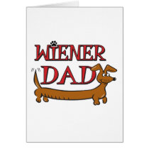 Wiener Dad Card