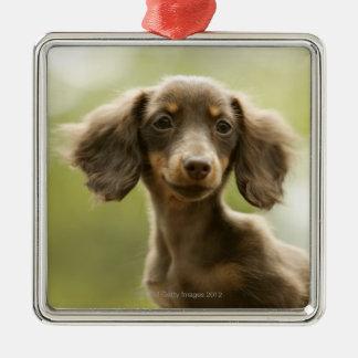 Wiener Dog (brown) Metal Ornament