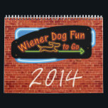 "Wiener Dog Fun To Go Calendar<br><div class=""desc"">Wiener Dog Fun To Go Calendar</div>"