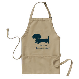 Wiener Dog Personal Chef Adult Apron