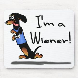 Wiener Dog Race Winner Mousepad