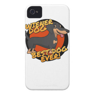 Wiener Dog - the Best Dog Ever iPhone 4 Cover