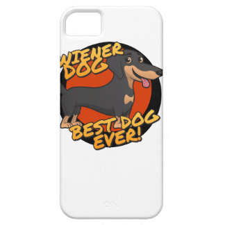 Wiener Dog - the Best Dog Ever iPhone SE/5/5s Case
