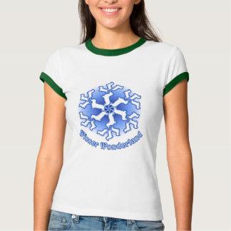 Wiener Dog Wonderland Tee Shirt
