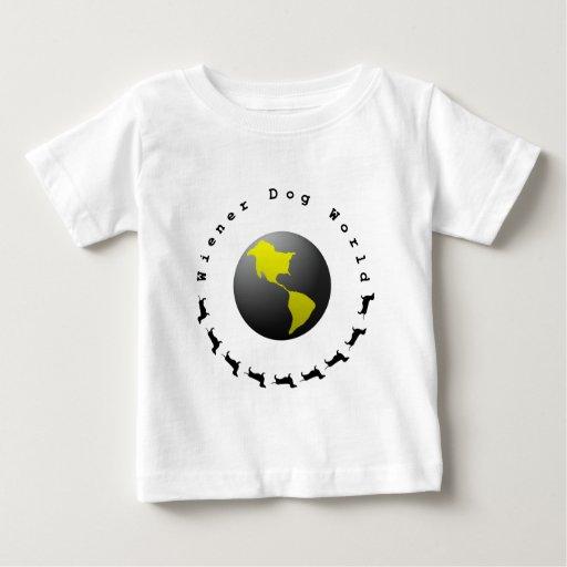 Wiener Dog World Graphic T Shirt