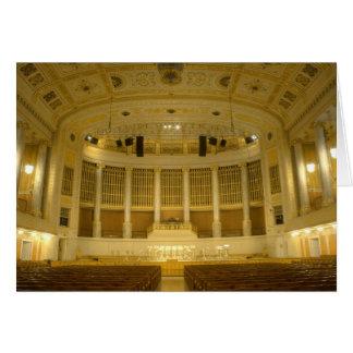 Wiener Konzerthaus Greeting Card