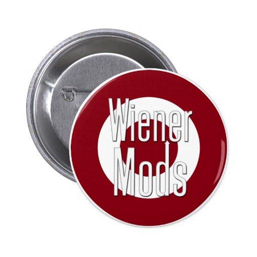 Wiener Mods Pinback Buttons