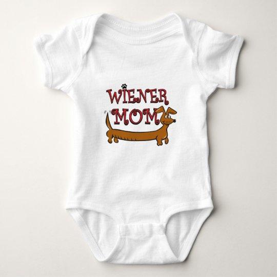 Wiener Mom Oktoberfest Baby Bodysuit