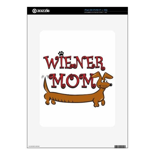 Wiener Mom Oktoberfest Decals For The iPad