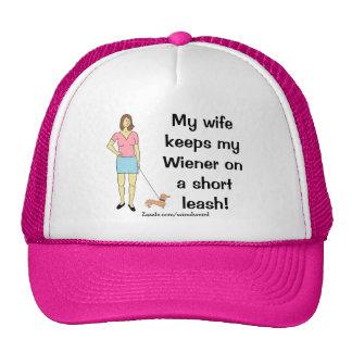 Wiener On A Short Leash Hat