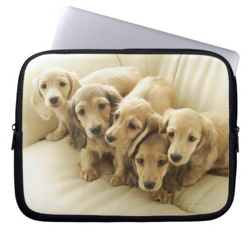 Wiener puppies computer sleeve