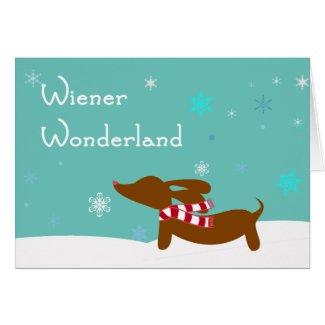 Wiener Wonderland Dachshund