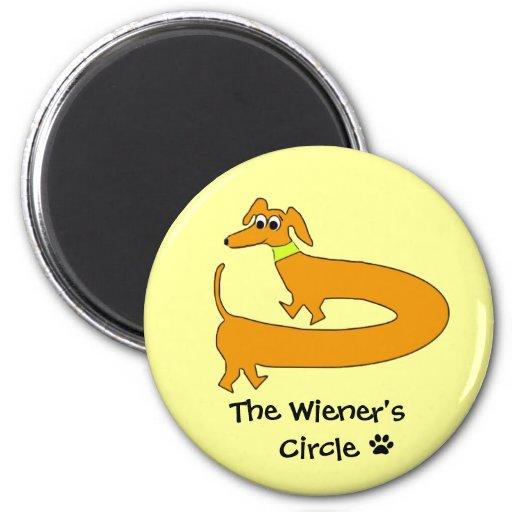 Wieners Circle Fridge Magnets