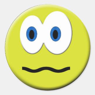 Wierd Face Sticker