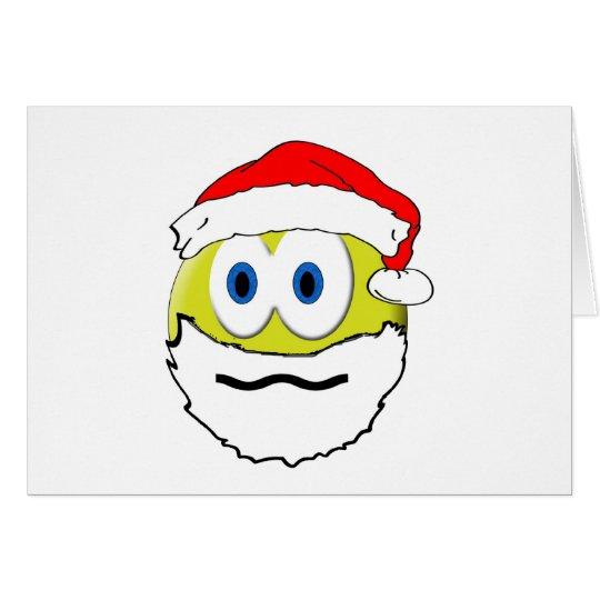 Wierd Santa Card