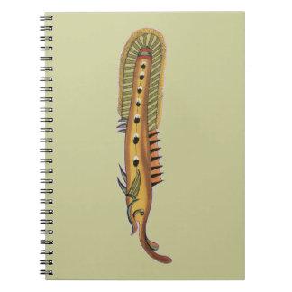 Wierd Spiny Eel Note Book