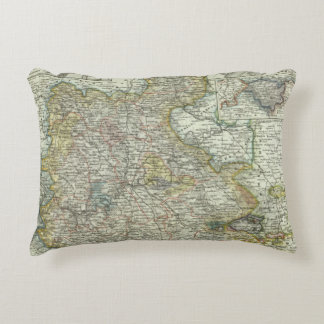 Wiesbaden and Frankfurt Germany Accent Pillow