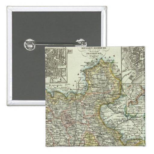 Wiesbaden and Frankfurt Germany Pins