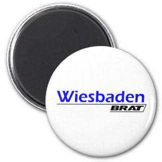 Wiesbaden Brat -A001L 2 Inch Round Magnet