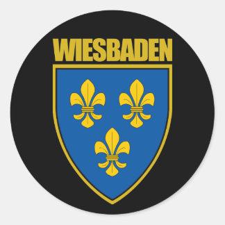 Wiesbaden Classic Round Sticker