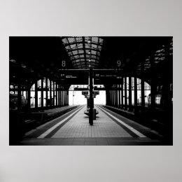 Wiesbaden main station poster