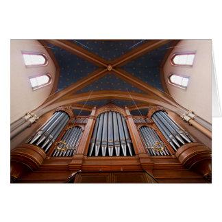 Wiesbaden Marktkirche organ Card