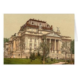Wiesbaden Opera House Blank Card