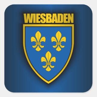 Wiesbaden Square Sticker