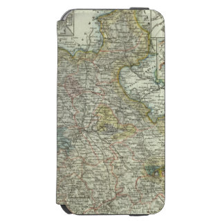 Wiesbaden y Francfort Alemania Funda Billetera Para iPhone 6 Watson