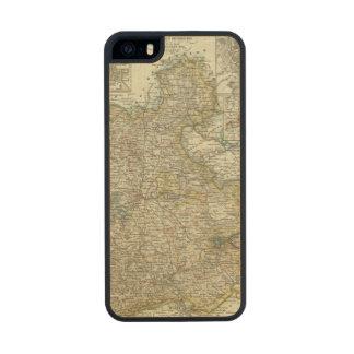 Wiesbaden y Francfort Alemania Funda De Madera Para iPhone SE/5/5s