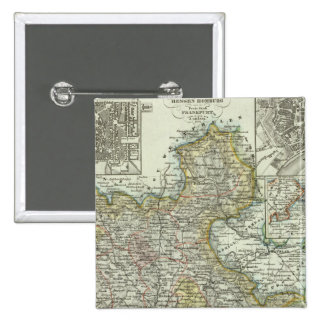 Wiesbaden y Francfort Alemania Pins