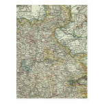 Wiesbaden y Francfort Alemania Tarjeta Postal