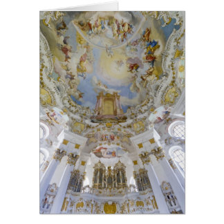 Wieskirche organ card