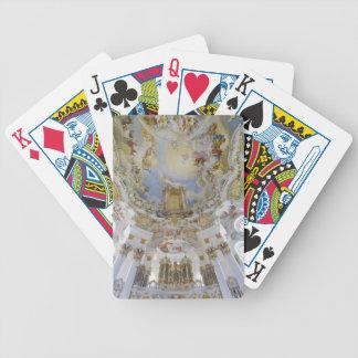 Wieskirche playing cards