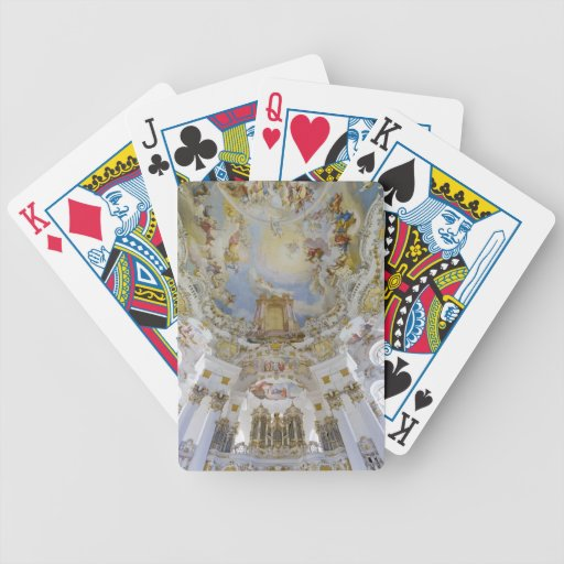 Wieskirche playing cards