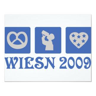 wiesn 2009 card