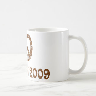 wiesn brezel 2009 icon coffee mug
