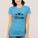 Wiesn Oktoberfest Edelweiss Camiseta