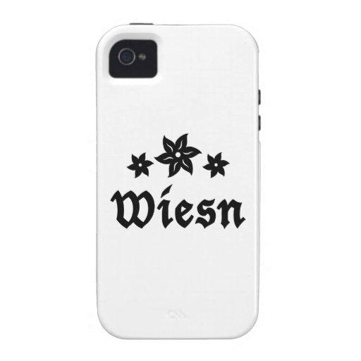 Wiesn Oktoberfest Edelweiss iPhone 4 Carcasa