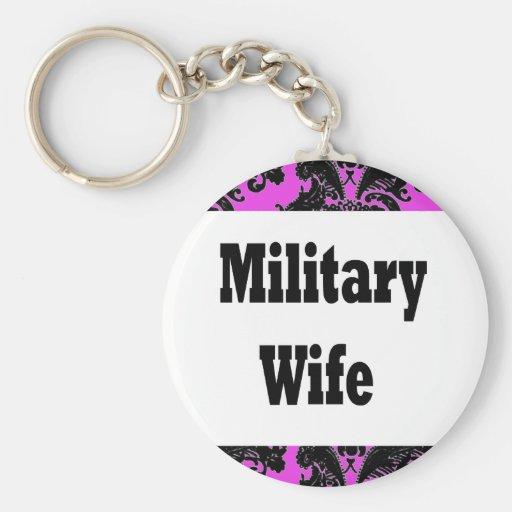 wife2 militar llavero personalizado