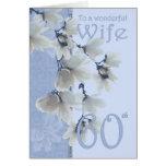 Wife 60 Birthday - Birthday Card Wife