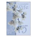 Wife 75 Birthday - Birthday Card Wife