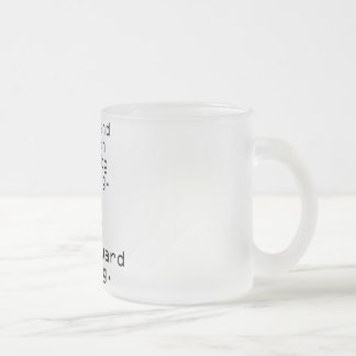 Wife And French Bulldog Missing 10 Oz Frosted Glass Coffee Mug