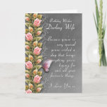 "wife birthday card - birthday card with roses and<br><div class=""desc"">wife birthday card - birthday card with roses and butterfly</div>"